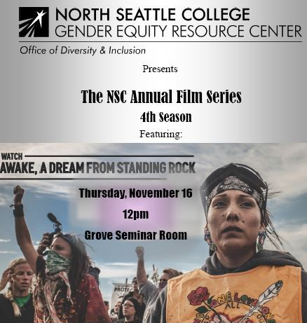NSC 4th Annual Film Series - AWAKE, A Dream From Standing Rock
